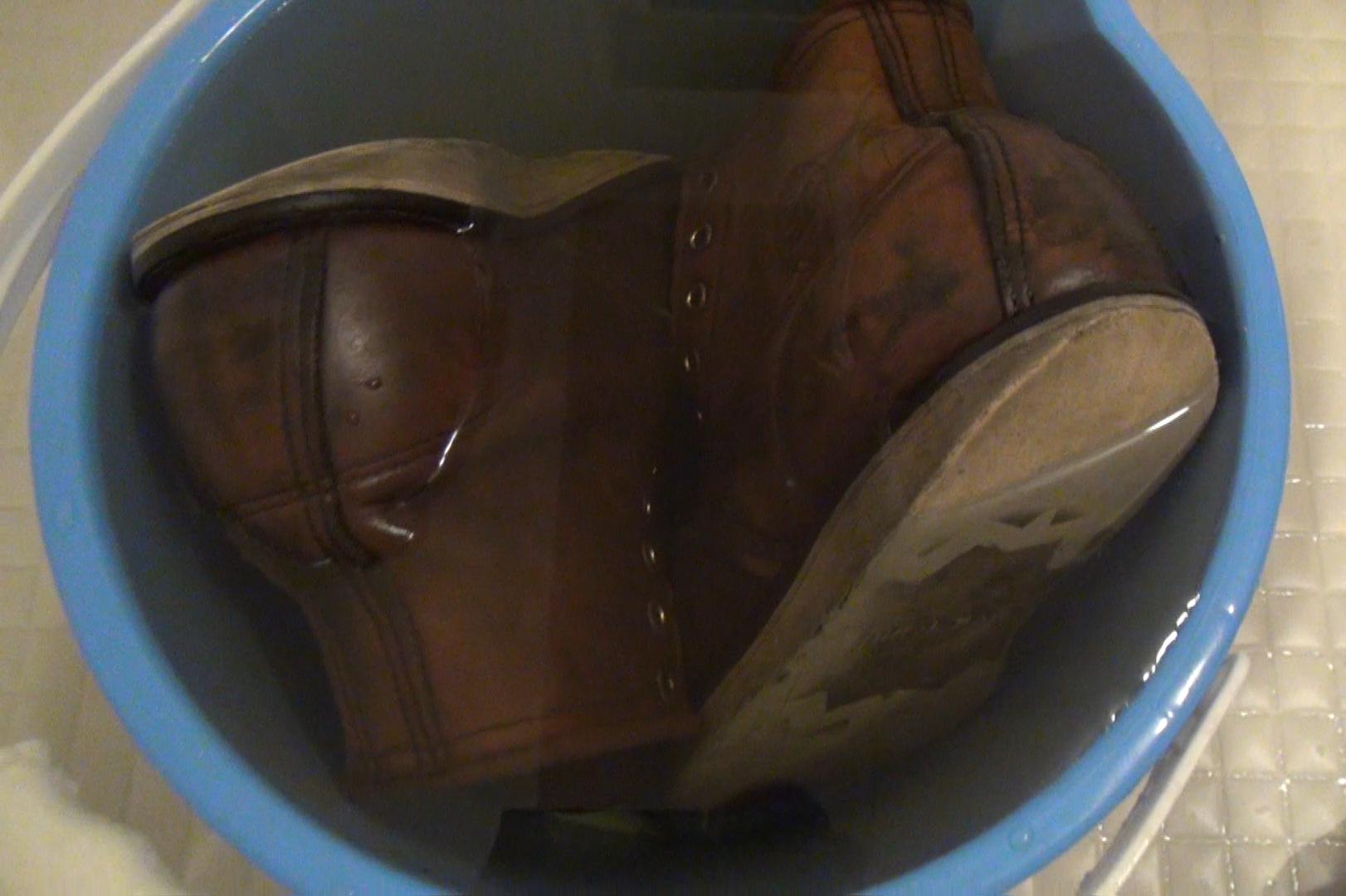 レッドウィング875 丸洗い サドルソープ