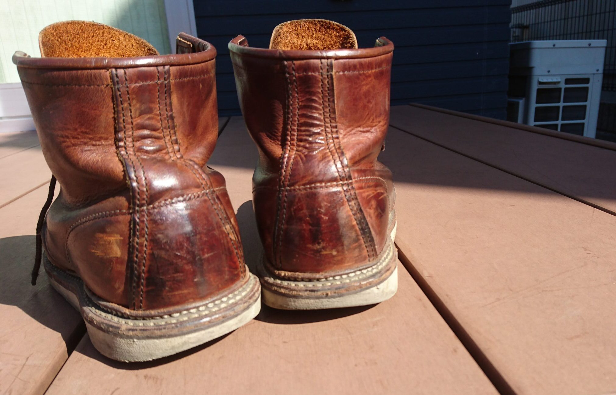 redwing1907 カッパーラフ&タフ 経年変化 エイジング